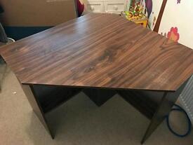 Corner office desk table Fraser oak