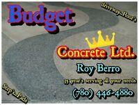 Budget Concrete LTD where concrete is done right