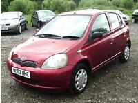 Toyota Yaris 1.0 16V VVT-I COLOUR COLLECTION RED