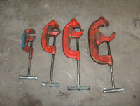 Ridgid Tools Threading Sets, Cutter, Reamers, Dies and die heads