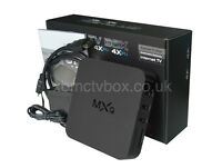 ANDRIOD Original MXQ TV BOX  PLUS RC/11 FLY MOUSE AND KEYBOARD