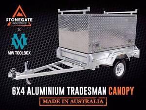 6x4 | 7x4 | 7x5 | 8x5 Tradesman Aluminium Canopy Box Trailer Carindale Brisbane South East Preview