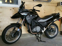 2014 BMW G650GS Adventure Motorcycle