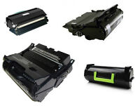 LEXMARK TONER CARTRIDGES T620,T630,T640,T650 and more.