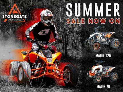 Quality Quad Buggy Dirt Bike From $999 - 12 month Interest Free*