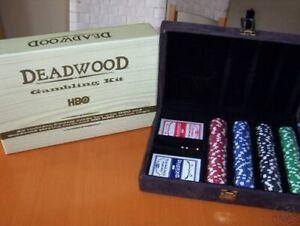 Deadwood - HBO TV series-Gambling Kit-NEW