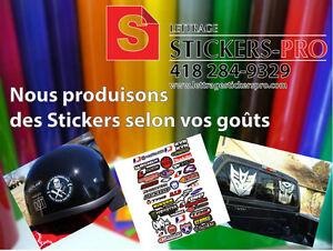 Lettrage et Stickers
