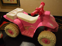 Hello Kitty Quad Ride On Electric Car 6 Volt Pink