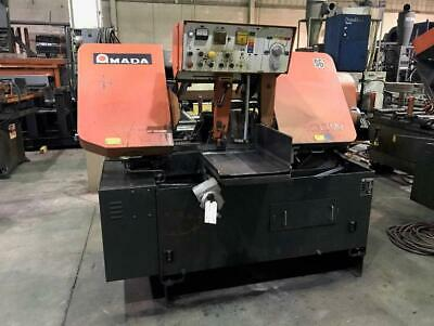 Used Amada Automatic Horizontal Band Saw Model Ha-400w