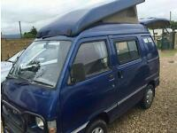 Daihatsu hijetta 2 berth 1998 pop up roof campervan