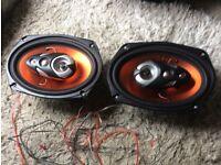 Car parcel shelf speakers 6x9 Juice Audio Orange Series