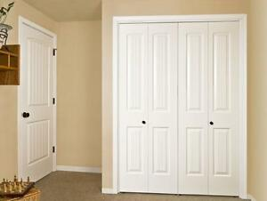 Bi fold closet doors Kitchener / Waterloo Kitchener Area image 1