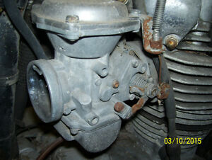 Yamaha XS650 carbs carburetors 1975