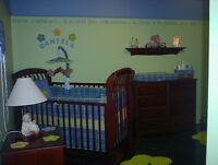 BABY/TODDLER COMPLETE BEDROOM SET (LIKE BRAND NEW)