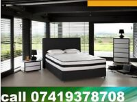 Stylish King Sizes Bed/ double / single base with Mattress