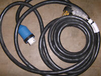 """NEW"" HEAVY DUTY 50 AMP RV ELECTRICAL CORD"