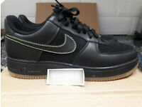buy online ca6ee 10f0a NEW GENUINE NIKE AIR FORCE 1 AF1 XXV 25TH ANNIVERSARY LOW UK9.5 BLACK NEON