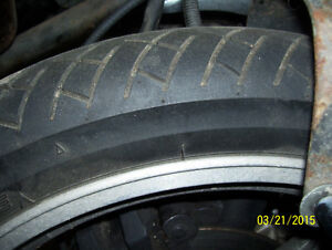 Bridgestone front motorcycle tire 90/90-18 EXCELLENT