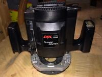 Skil 1-1/2HP plunge router 8.5amp