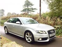 09 Audi A4 2.0 TDI S Line 4dr - 2 Owners With NEW MOT & Serviced