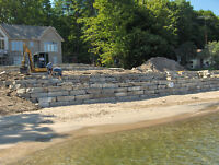 Landscaping Pools waterfront armourstone flagstone etc...