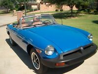 1976 mg convertible with 40,000 miles
