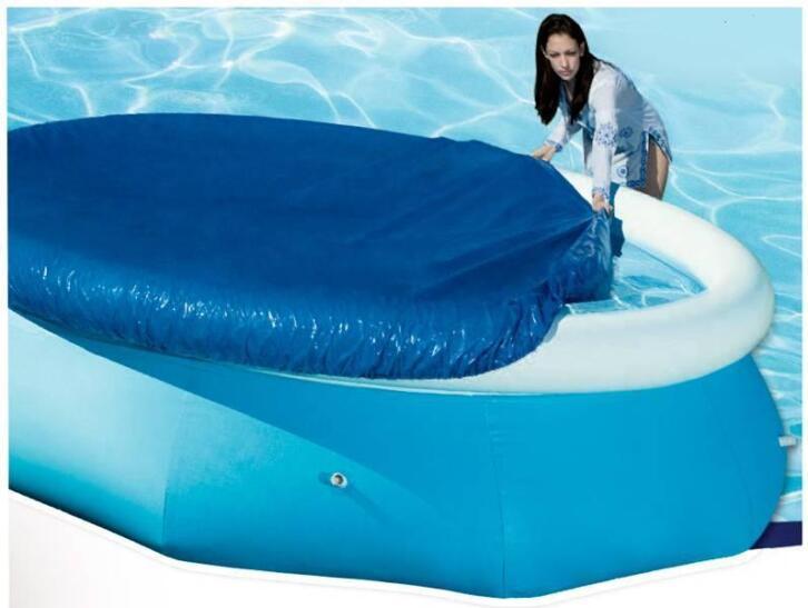 Afdekzeil voor zwembad met diameter 305cm