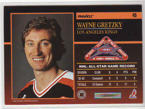 93-94 Pinnacle ALL-STARS (45 hockey cards - INSERT SET) City of Halifax Halifax image 2