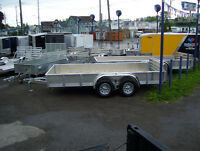 ALL ALUMINUM UTILITY AND LANDSCAPE TRAILERS