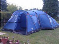 Vango 7 berth family tent. Maritsa 700
