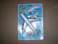 Vintage Toy Air Canada Jet in original blister pack.