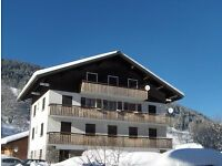 Ski Apartment Les Gets French Alps Great Village Location Sleeps 5-7