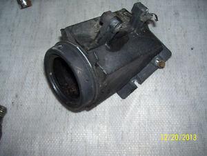 Yamaha Bravo airbox intake silencer