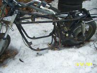 Honda CB750K  wheels  swingarm handlebars shocks 1978