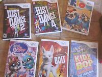 Wii childrens games