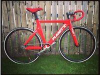 Planet X Pro Carbon Track bike single speed Fixie velodrome size Small