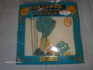 Sun bonnet Sue plastic canvas Needlepoint kit
