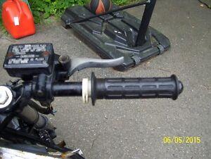 Honda Interceptor 1000 VF1000F throttle assembly throttle grip