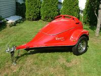 Remorque de Moto (Spider) ou petit véhicule. Fibro Concept