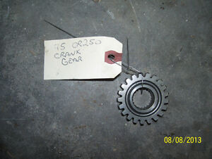 Honda CR250 crank gear