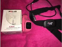 Polar a300 fitness watch and H7 heart rate monitor