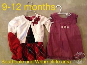 9-12 month girl clothing