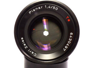 Carl Zeiss Planar T f1.4 50mm AEJ Lense for Contax/Yashica Mount Windsor Region Ontario image 1
