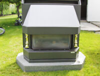 """Gas Fireplace c/w: 4"""" Duct"""