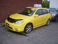 2004 Toyota Matrix LOADED! POWER ROOF - CERTIFIED/EMISSIONS