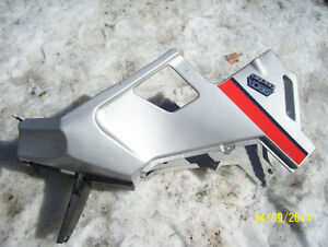 Yamaha Seca 650 turbo fairings side panels gas tank shroud