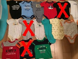 3 month boys onesies and shirts