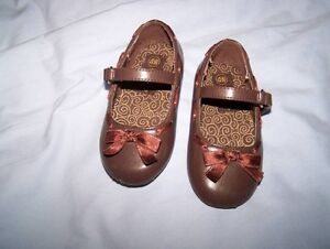 Brown Baby Shoes Size 4