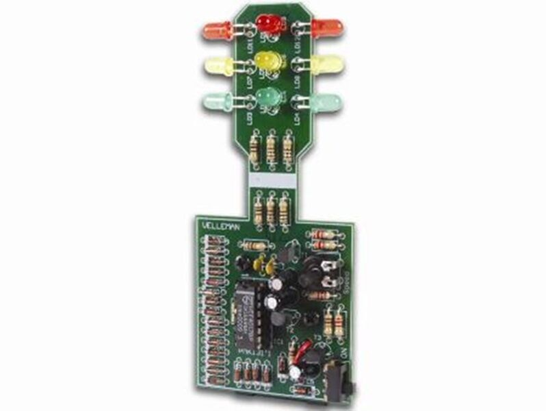 9V LED Educational Traffic Light Project Kit