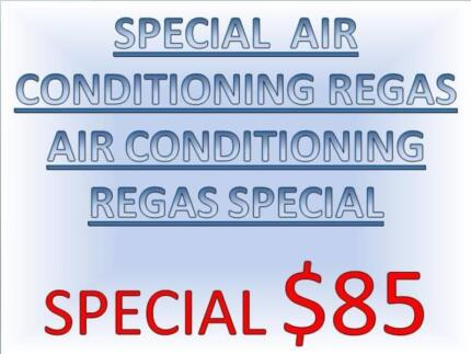SPECIAL A/C CAR  AIR CONDITIONING REGAS SERVICES $85 WE COME TOO YOU